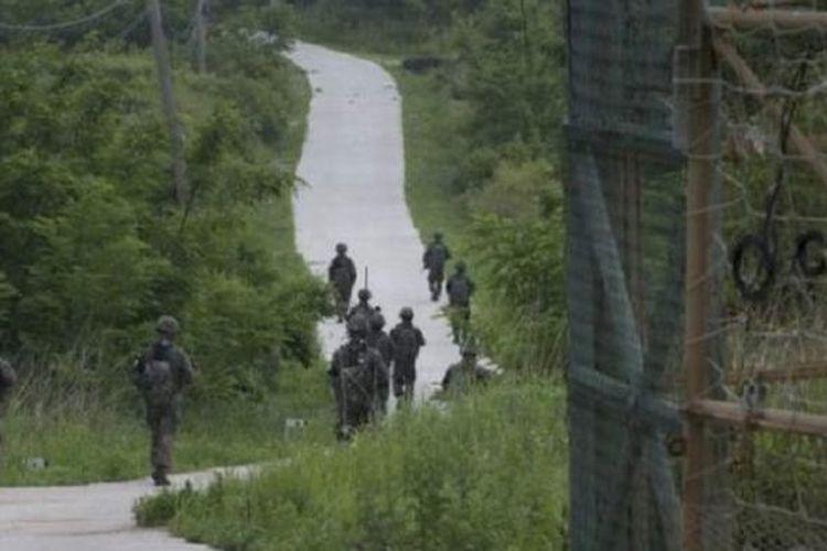 Zona demiliterisasi Korea adalah salah satu zona yang paling dijaga ketat di dunia