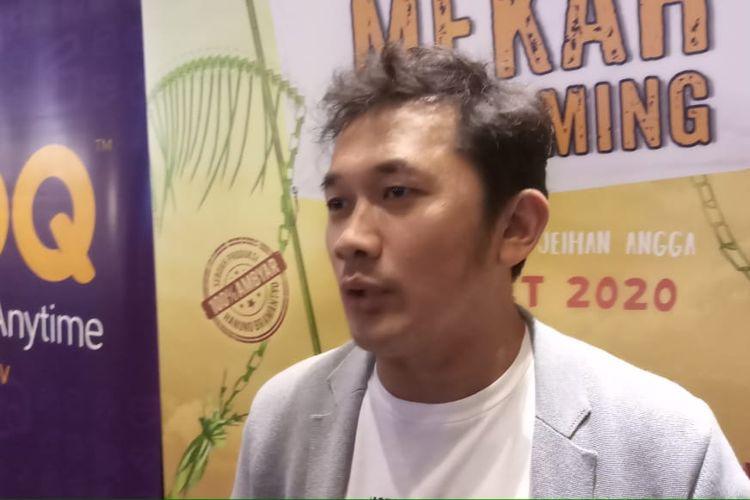 Sutradara Hanung Bramantyo saat ditemui di kawasan Thamrin, Jakarta Pusat, Kamis (27/2/2020).