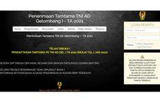 Dibuka Rekrutmen Tamtama TNI AD 2021, Syarat Minimal Lulusan SMP