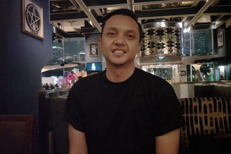 Iga Massardi saat ditemui di Hard Rock Kafe, SCBD, Jakarta Selatan, Kamis (13/9/2018).