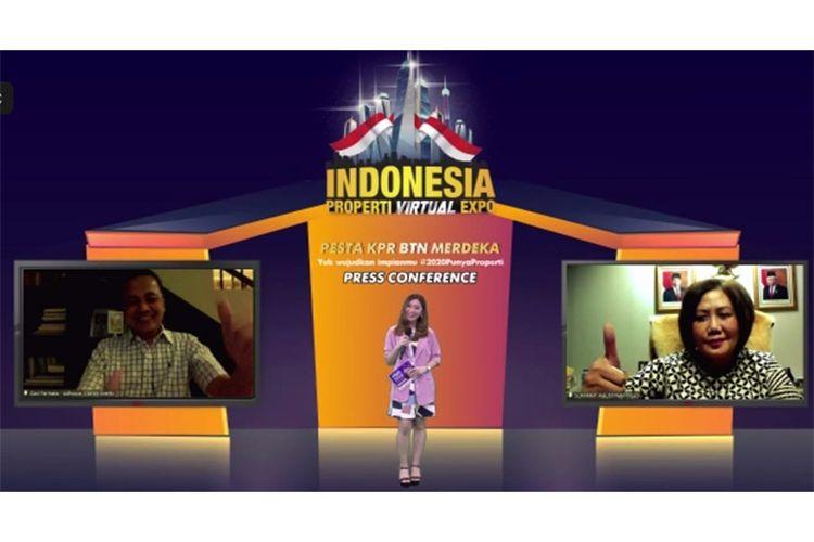 Press conference virtual Indonesia Properti Virtual Expo