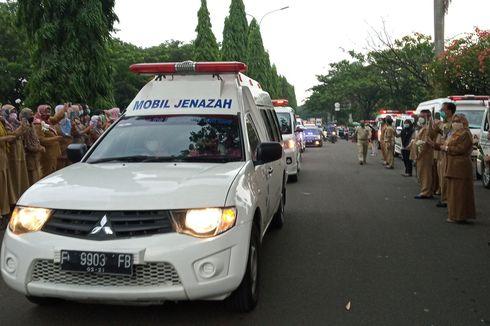 Suasana Haru Pemakaman Dokter yang Meninggal akibat Corona di Bogor