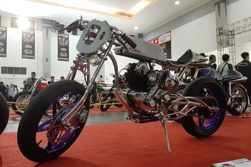 Ngeri, Motor Tua Bangka Binter Merzy Pakai Mesin Supercharger