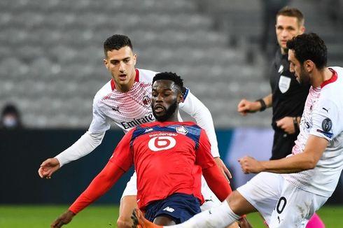 Hasil Lille Vs AC Milan - Tanpa Ibrahimovic, Rossoneri Raih Hasil Imbang