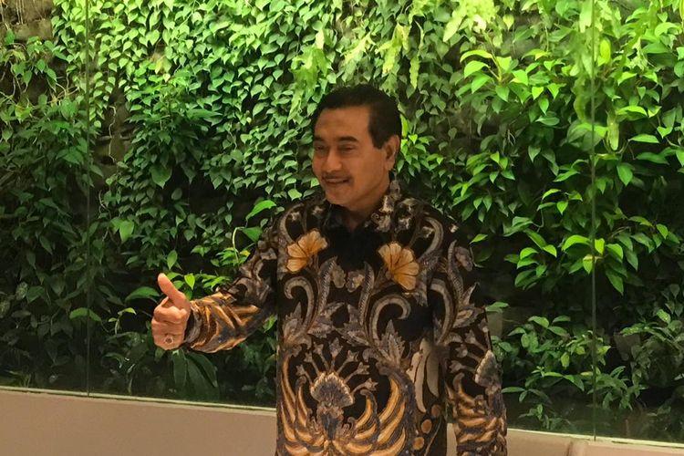 Mantan Direktur Utama Bank Rakyat Indonesia (BRI) Suprajarto di Jakarta, Kamis (29/8/2019).