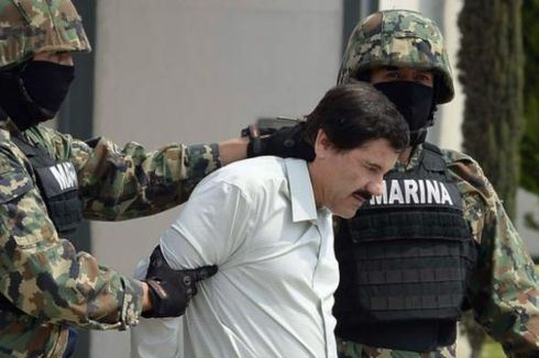 Istri dan Putri Kembar Gembong Narkotika Meksiko Ada Saat Penangkapan