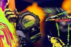 Jam Tangan G-Shock Halloween, Pakai Kotak Berdesain Bola Mata