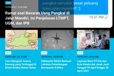 [POPULER TREN] Ramai soal Uang Pangkal Jalur Mandiri | Titik Penyekatan Larangan Mudik dari Banten hingga Jatim