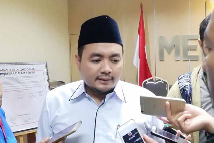 Anggota Bawaslu Mochammad Afifuddin di Bawaslu, Jakarta, Selasa (15/5/2018).