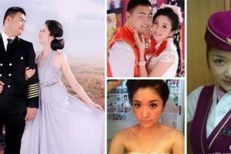 Ma Ailun, wanita 23 tahun asal China yang dikabarkan tewas tersengat aliran listrik dari iPhone 5