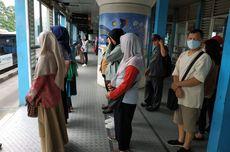 Penumpang Tanpa Masker Dilarang Naik Transjakarta, MRT, LRT Mulai 12 April 2020