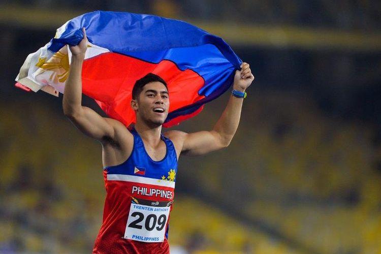 Atlet Filipina (ilustrasi)