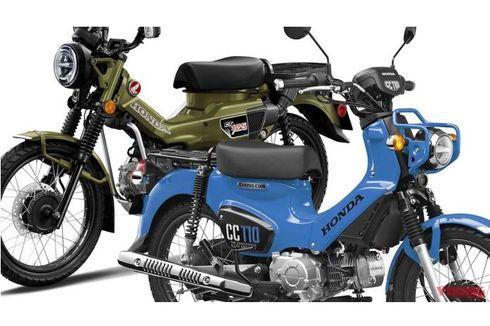 Warna Honda CT125 dan Cross Cub 110 Model 2021