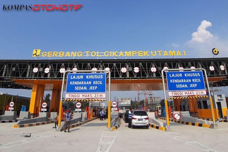Gerbang Tol Cikampek Utama I di KM 70, siap beroperasi 23 Mei 2019