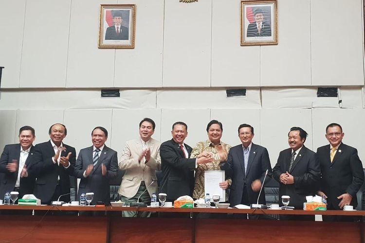 Bamsoet Jadi Ketua MPR RI Lewat Musyawarah Mufakat