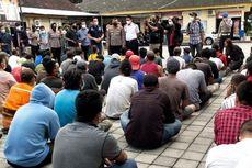 Gelar Razia di Pasar hingga Destinasi Wisata, Polres Mataram Tangkap 86 Terduga Preman