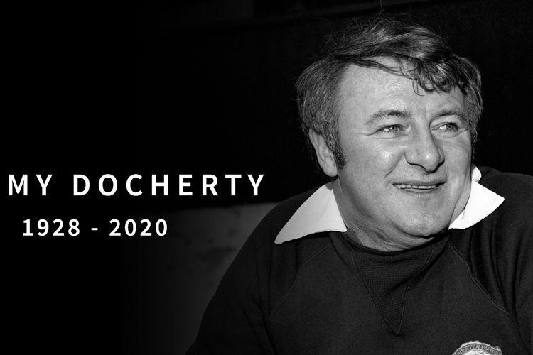 Mantan manajer Manchester United, Tommy Docherty, meninggal dunia