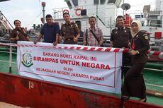 Bajak dan Kuras Minyak dari Kapal Singapura, Kapal Tanker Matahari Laut Disita Kejaksaan