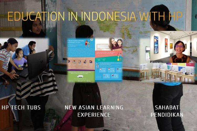 President Director HP Inc. Indonesia Fiona Lee saat acara webinar bersama media.