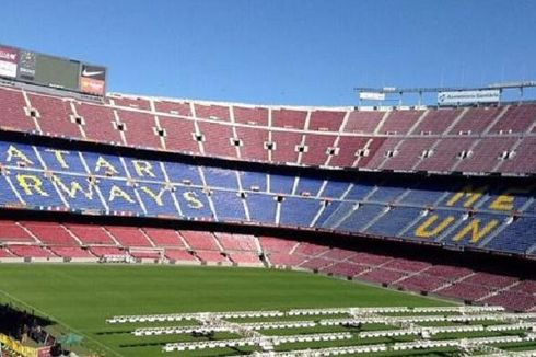 Di Camp Nou, Qatar Airways