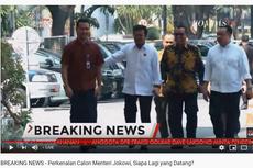 LIVE STREAMING: Calon Menteri Jokowi, Siapa Lagi yang Datang ke Istana Hari Ini?