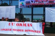 Pengesahan RUU Ormas Diwarnai Demonstrasi