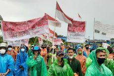 Ribuan Nelayan Kabupaten Sambas Kalbar Gelar Demo Tolak PP 85 Tahun 2021