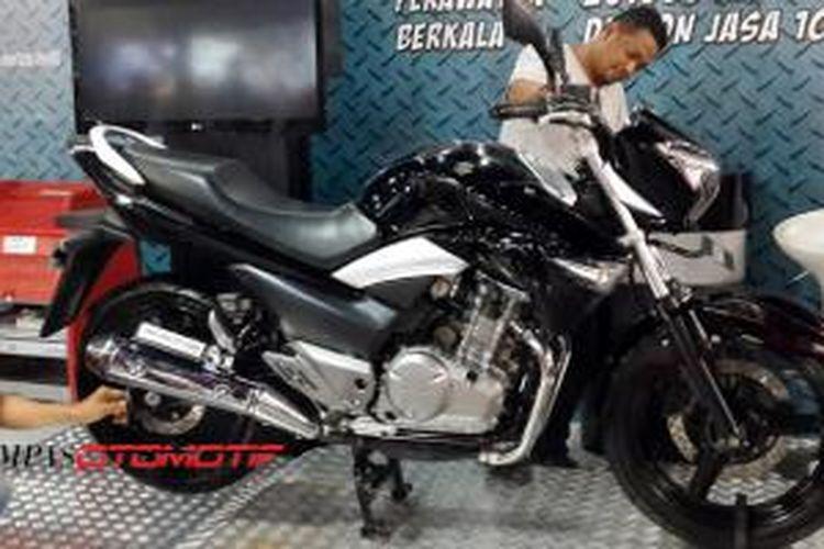 Suzuki bertahan dari gempuran merek lain, siapkan sport baru untuk menyerang balik.