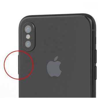 Bocoran gambar render komputer dari iPhone 8 yang memperlihatkan ukuran tombol power lebih besar dari biasanya.