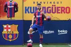 Disarankan Ambil Nomor 10 Warisan Messi, Aguero Ragu dan Pilih 19