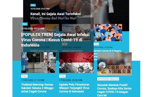 [POPULER TREN] Peta Sebaran Corona di Jakarta dan Jabar | Protokol Kesehatan soal Corona