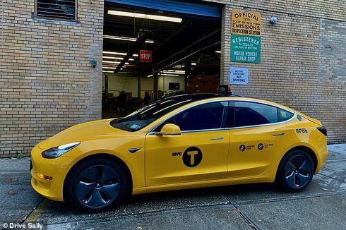 Taksi Mobil Listrik Buatan Tesla Resmi Mengaspal di AS, Bakal Ditambah Ratusan Unit Lagi