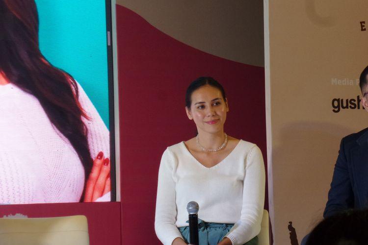 Ahli gizi dari multivitamin YOUVIT, Rachel Olsen dalam peluncuran YOUVIT MultiMum di Mal Kota Kasablanka, Jakarta Selatan, Jumat (29/11/2019).