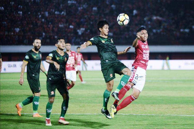 Bali United menjamu PS Tira pada pertandingan pekan ke-23 Liga 1 di Stadion I Wayan Dipta, 24 September 2018.