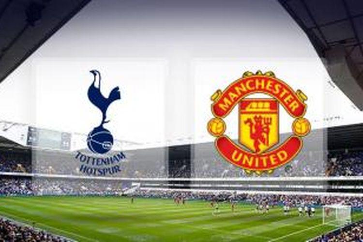Ilustrasi pertandingan Premier League antara Tottenham Hotspur dan Manchester United, yang akan berlangsung di White Hart Lane, Minggu (28/12/2014).