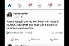 Hina Guru via Facebook, Pria Ini Hendak Klarifikasi tetapi Berujung Ricuh