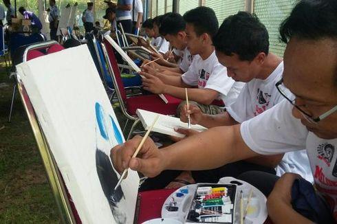 Peringati Hari Pahlawan, 100 Napi di Yogyakarta Melukis Bersama