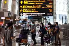 40.020 Pergerakan Penumpang di Bandara Soetta Saat Puncak Arus Balik Idul Adha