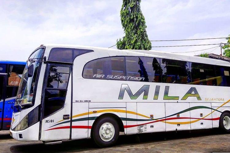 Ilustrasi bus - Bus Mila.