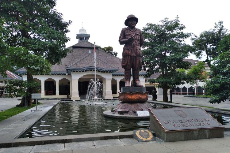 Rumah dinas Wali Kota Solo Loji Gandrung (Kompas.com/Pythag Kurniati)