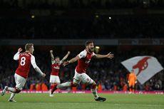 Hasil Liga Inggris, Arsenal Tekuk Leicester Setelah 2 Kali Tertinggal