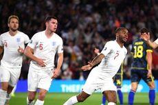 Inggris Vs Montenegro, Berkelahi dengan Gomez, Sterling Tak Dimainkan