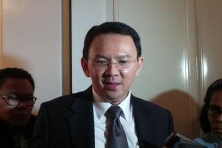 Gubernur DKI Jakarta Basuki Tjahaja Purnama di Balai Kota Jakarta.