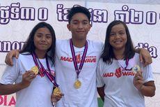 Farrel Tangkas Rebut Medali Emas SEA Age Group 2019