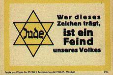 Hari Ini dalam Sejarah: Nazi Jerman Perintahkan Orang Yahudi Pakai Lencana 'Bintang Daud'