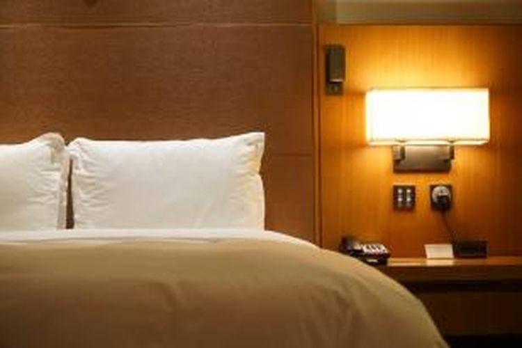 ILUSTRASI - Kamar hotel