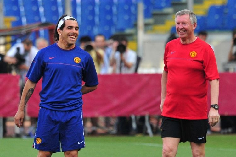Carlos Tevez Sengaja Tampil Buruk di Man United Demi Gabung Man ...