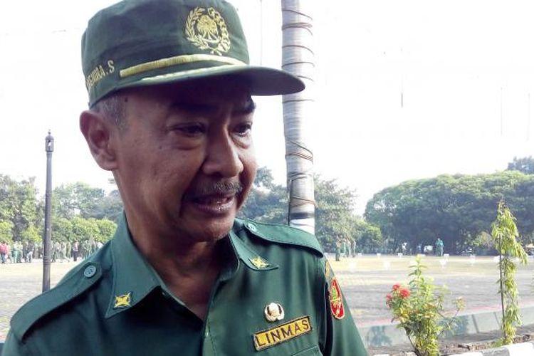 Sekretaris Daerah Kota Bekasi Rayendra Sukarmaji