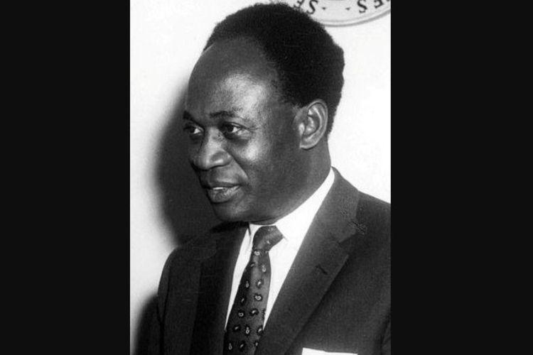 Presiden pertama Ghana, Kwame Nkrumah.