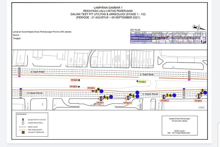 Rekayasa lalu lintas MRT Jakarta
